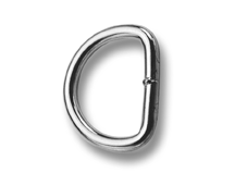 Saddlery d-rings